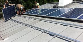 5,2 kWp Aufdachanlage - Stadt Salzburg