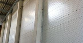 Schutznetzmontage - Logistikhalle Werndorf
