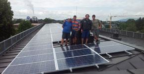 36,2 kWp Aufdachanlage - Salzburg Stadt