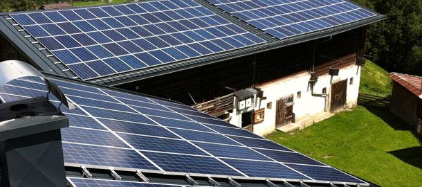 14,0 kWp Aufdachanlage - Krimml/Sbg.