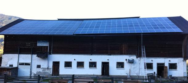 25,0 kWp Aufdachanlage - Sulzau