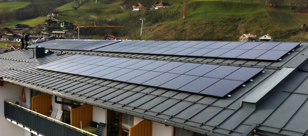 20,0 kWp Aufdachanlage - Bramberg