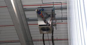 Industriemontage - Hallenlüfter