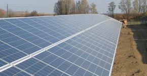 Photovoltaik - Systemstahlbau