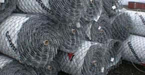 Schutznetze aus Stahl - Schutztechnik