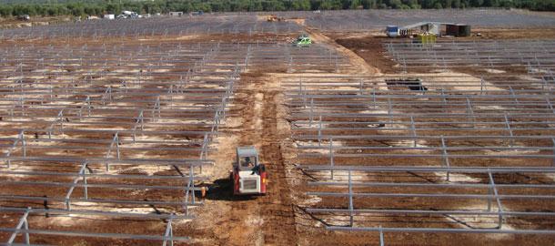 Solarparkmontage San Vito dei Normanni (BR)
